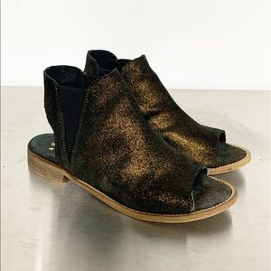 Musse & Cloud | Ciara Leather Open Toe Sandal 38